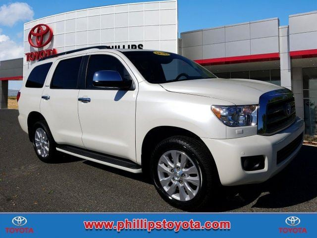 2017 toyota sequoia platinum phillips toyota. Black Bedroom Furniture Sets. Home Design Ideas